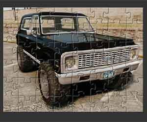 Chevrolet Blazer Puzzle game