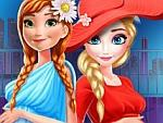 Elsa And Anna Pregnant Mall Shopping Game game