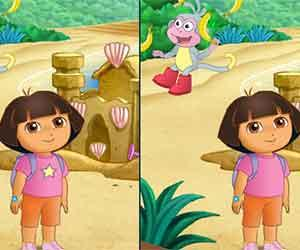 Dora Find The Differences game