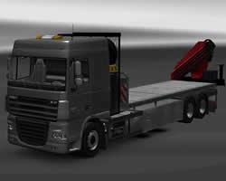 Daf Flatbed Jigsaw game