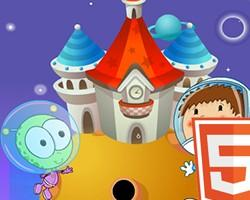 Kids Cartoon Decoration Html5 game