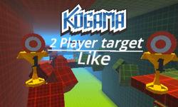 Kogama: 2 Player Target Parkour game