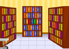 Toon Escape - Library game