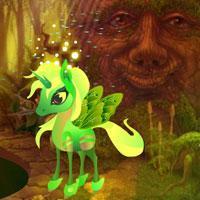 play Wowescape Green Pegasus Fantasy Escape