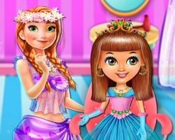 Baby Princess Hair Salon game