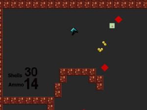 8-Bit Top-Down Shooter I game