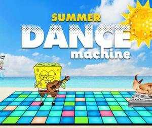 Nick Summer Dance Machine game