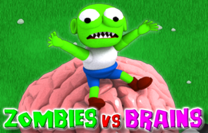 Zombies Vs Brains game
