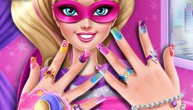 Super Barbie Manicure game