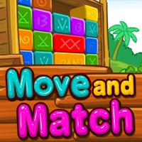 Move And Match game