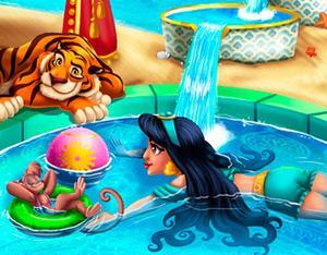 Jasmine Swimming Pool Girls