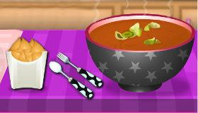 Cooking Tomato Soup game