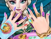 play Ice Queen Nails Spa