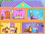play Masha And The Bear Dollhouse