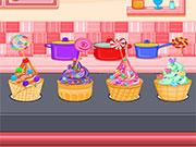 Ice Cream Cone Cupcakes Candy game