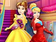 play Disney Princesses Masquerade Shopping