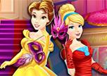 play Disney Princess Masquerade Shopping