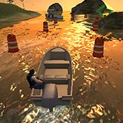 play Speed Boat Parking 3D