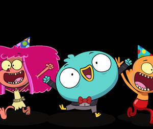 Harvey Beaks All Day Par-Tay! game