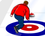 Virtuell Curling game
