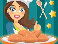 Cooking With Emma: Peanut Butter Cookies game