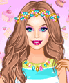 Barbie Trend Alert Candy Looks Dress Up Game game