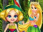 Forest Princess Spa Bath Game game