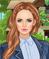 On The Farm Style Dress Up Game game