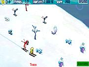 Spongebob Avalanche At Planktons Peak game