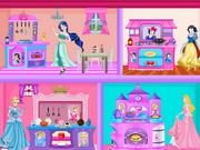 play Princess Kitchen Dollhouse