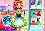 play Sandra Learns House Craft