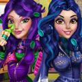 Descendants Wicked Real Makeover game