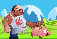 play Pink Running Pig