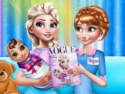 Mommy Elsa Vogue Interview game