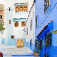 play Blue City Chefchaouen Escape
