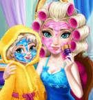 play Ice Queen Mom Real Makeover