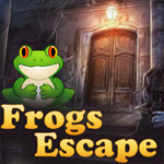 Frogs Escape game