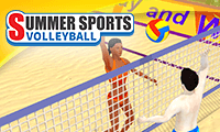 play Summer Sports Volleyball