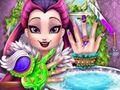 play Raven Queen Nails Spa Game