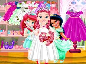 play Little Princess Wedding Dress Up