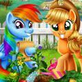 play Mlp Veggie Garden