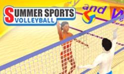 play Summer Sports: Volleyball