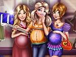 Disney Pregnant Selfie game