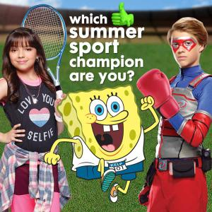 Nickelodeon: Which Summer Game Champion Are You? Quiz Game game