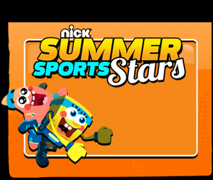 Nick Summer Sports Stars! game