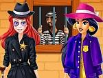Jasmine And Ariel Detectives game
