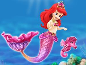 play Baby Mermaid Princess Dress Up