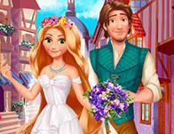 play Rapunzel Medieval Wedding