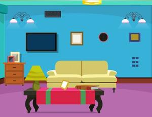 play Escapezone Cute Blue Room Escape
