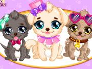 play Puppy Makeover Hair Salon